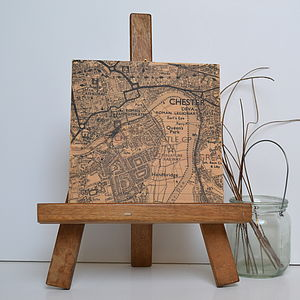 Personalised Map Printed On Wood - shop by price