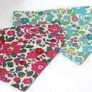 Dog Neckerchief Bandana Liberty Print