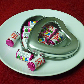 Heart Shaped Tin Of Sweets