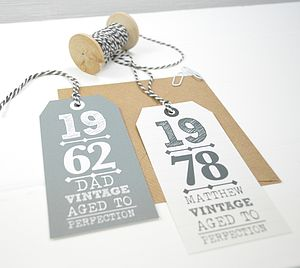 Personalised Men's Gift Tags - view all father's day gifts