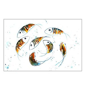 Simply Goldfish Original Painting - home accessories
