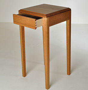 English Cherry Zen Side Table