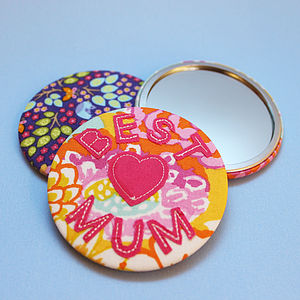 Personalised Applique Fabric Mirror