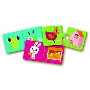 Habitat Toddler Puzzle Duo Matching Game