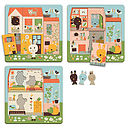 Woodland Rabbit House Three Layer Puzzle
