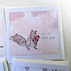 'Little Notes Of Love' Cards - finishing touches