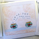 'Little notes of love' cards - Two fish bowls design