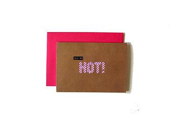 'You're Hot' Washi Tape Card
