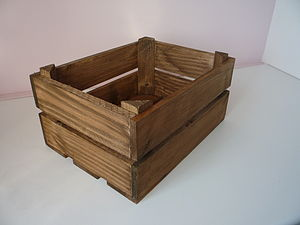 Vintage Style Tomato Crate