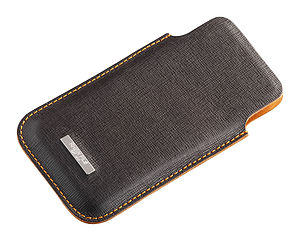 Handcrafted Saffiano Leather iPhone Five Sleeve Reduced - men's accessories