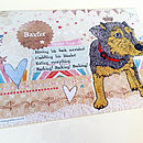 Personalised Pet Dog Print