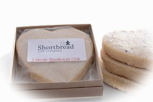 Monthly Shortbread Biscuit Club - food & drink gifts