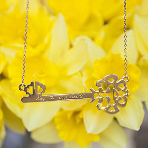 'Key To My Heart' Necklace - Less Ordinary Jewellery
