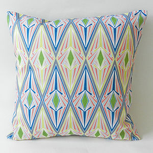 Canopy Cushion Cover - soft colour pop