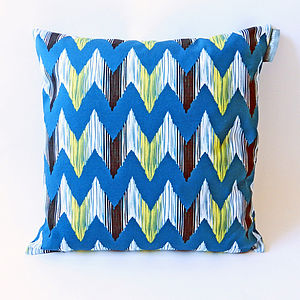 Ikat River Cushion Cover - home sale