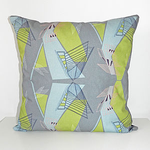 Architecture Cushion Cover - patterned cushions