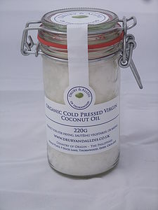 Organic Virgin Coconut Oil 220 Gram - organic food & drink