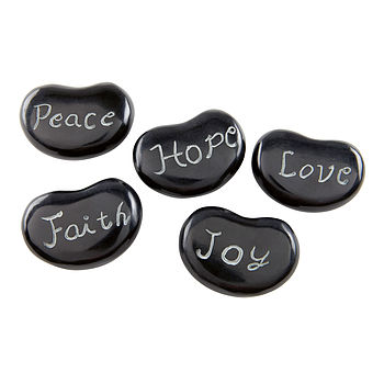 Word Stones Set Of Five