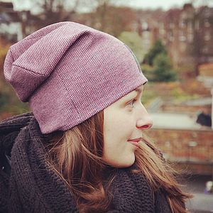 Wool Beanie Hat, Unisex
