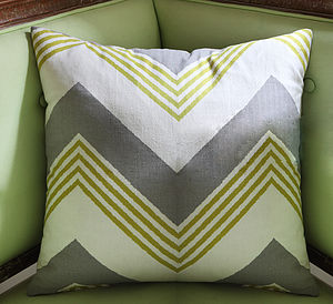 Grand Zig Zag Cushion - cushions