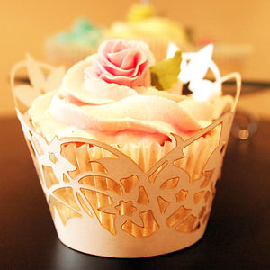 Enchanted Laser Cut Cupcake Wraps Pack - kitchen accessories