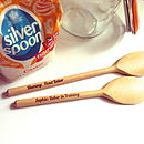 Personalised Spoon Set