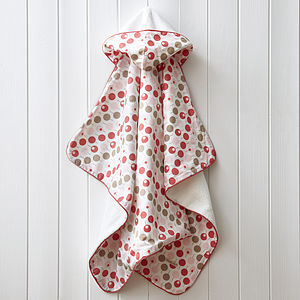 Hooded Towel For Girls - bathtime