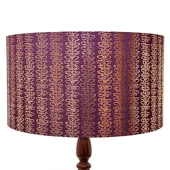 Bespoke Gilded Butterfly Lampshade