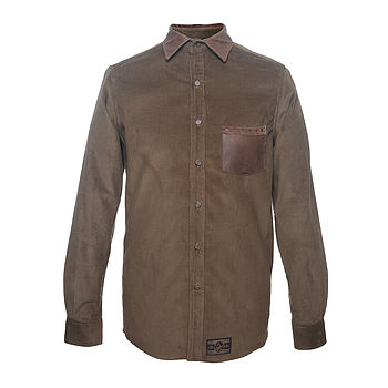 Brogue Shirt Olive