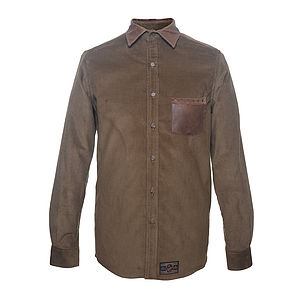Brogue Shirt - men's fashion