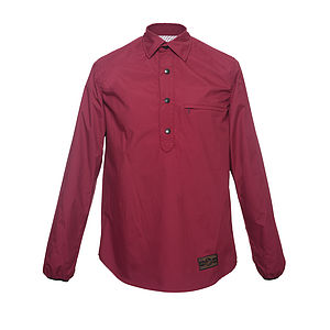 Grove Half Button Shirt - men's fashion
