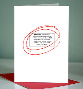 Personalised Lonely Hearts Card - funny cards