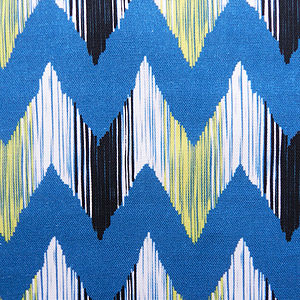 Ikat River Cotton Fabric - throws, blankets & fabric
