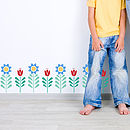 Spring Flower Decoration Wall Stickers