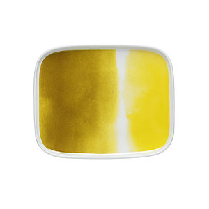 Watercolours Yellow Side Plate - tableware