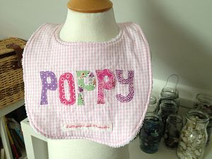 Personalised Bib - baby care