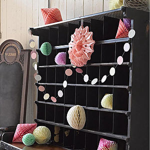 Dots Paper Circle Garland Bunting - art & decorations