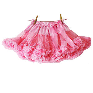 Fluffy Pink Tutu - pretend play & dressing up