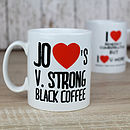 Personalised Love's Mug