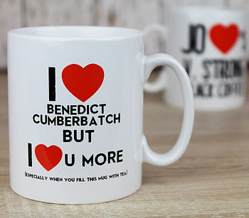 Personalised 'Love You More Than' Mug