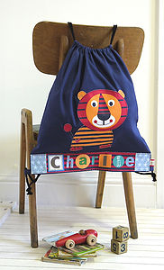 Personalised Childrens Tiger Bag - children's accessories