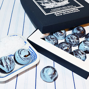 Cornish Sea Salt Caramel Chocolates - brand new sellers