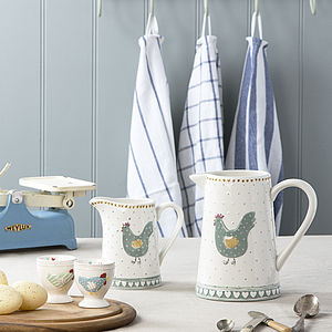 Chicken Egg Cup Or Jug - egg cups & cosies