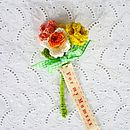 Eternal Flower Buttonhole Posy