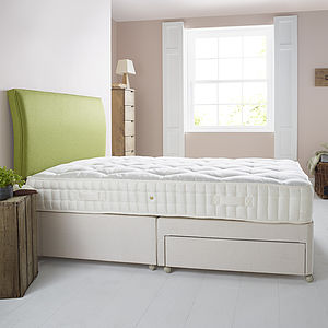 Deluxe Wool Mattress And Divan - furniture