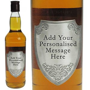 Single Malt Whisky With Pewter Label