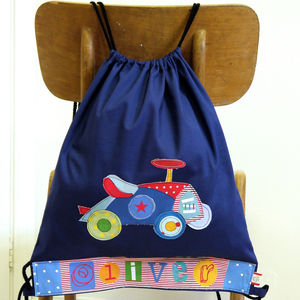 Boys Personalised Car Bag - bags, purses & wallets