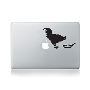 Banksy Chicken And Frying Egg Vinyl Decal