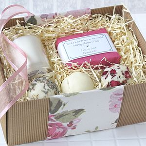 Personalised Mothers Day Pamper Gift Set - soap gift sets