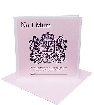 Royalty Mother's Day Card
